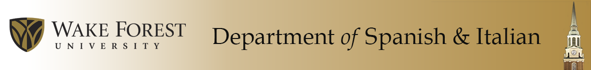 Department of Spanish & Italian